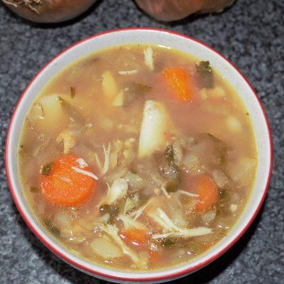 Homeade veggy soup